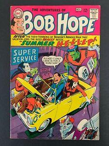BOB HOPE #107 *SHARP!* (DC, 1967)  NEAL ADAMS ART!!  LOTS OF PICS!!  HTF!!