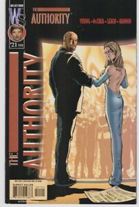 The Authority Comic Book #21 February 2001 Wildstorm Productions Young McCrea