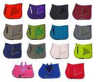 Numnah Saddle Pads with Matchy Fly Veil Bonnet Set