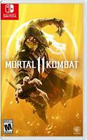 Mortal Kombat 11 -- Standard Edition (Nintendo Switch, 2019)