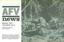 AFV News V6 N2 WW2 German Neubaufahrzeug (Nb.Fz) Tank_Sherman Crab Mine Flail