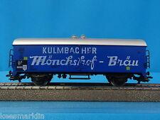 Marklin 4660 DB Beer Car Kulmbacher Mönchshof-Bräu BLUE