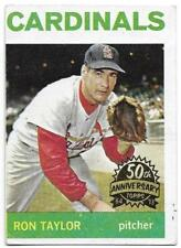 2013 Topps Heritage 50th Anniversary RON TAYLOR 1964 Buyback St. Louis Cardinals