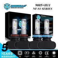 Hi/Lo 9005+H11 LED Headlight Bulbs Combo Kit for Toyota Camry 07-17 Sienna 11-18