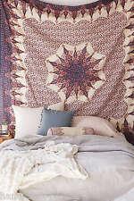 Mandala Tapestry Indian Cotton Wall Hanging Art Boho Queen Beach Blanket Throw