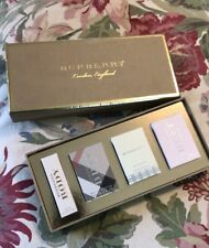Burberry Collection Perfume Gift Set 4 Piece BRIT Mini Bottles $90 NEW