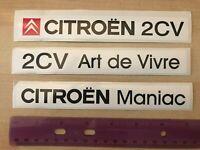 2CV Dolly autocollant  sticker Dolly citroen 2cv4 2cv6