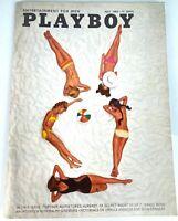 Playboy Magazine July 1966 Includes Foldout Interview Ralph Ginzburg