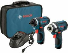 Bosch CLPK22-120 12V Max Drill and Impact Driver with Accessories SN213286