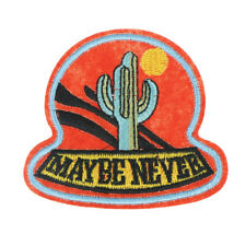Cactus and sun Patch Applique Embroidered Patches Sew on Badge HGUK