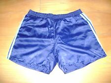 Vintage Adidas Original 80s Boxing Shorts Navy Blue Running SIZE S