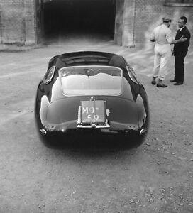 1957 Maserati 4.5 Coupe factory photograph photo automobile