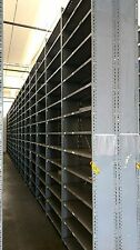 Gray Metal Industrial Shelving Units Available For Sale 6' & 12' Tall Sections
