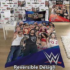 Wwe Wrestling Single Duvet Cover 2 in 1 Reversible Panel Designs
