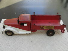 VINTAGE RARE BUDDY -L NO.646 FIRE AND CHEMICAL TOY TRUCK 1949