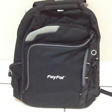 NEW PAYPAL Leed's Checkmate Computer Laptop Bag Backpack Promotional Black