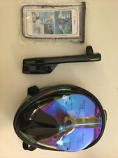 Full Face Snorkel Mask With Gopro Hook Up Point