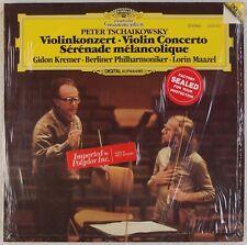 TCHAIKOVSKY: Violin Concerto, Gidon Kremer MAAZEL DGG Germany 2532 001 LP NM-