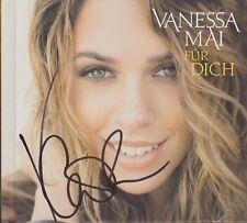 """Vanessa Mai """"Für Dich"""" CD Album Special Edition NEU signiert IN PERSON Autogramm"""