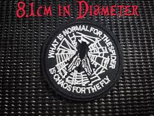 Quality Iron/Sew on What is normal for the spider chaos for the fly biker patch