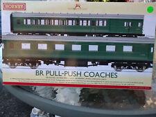 Hornby R4534C BR British Railways SR Push Pull Coach Set BNIB