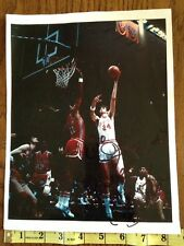 1974 NC State Basketball vs Maryland ACC Tommy Burleson Autographed Signed Photo