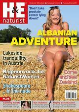H&E naturist October 2019 magazine nudist health efficiency