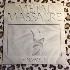 Metal Massacre lll - Lp Original 1983 / Bitch,Slayer,Black Widow,Medusa