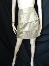 BNWT £30 Size 8 *M&S LTD COLLECTION* Stunning gold evening skirt UNWANTED GIFT