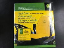 NEW JOHN DEERE LARGE SEAT COVER FOR COMPACT TRACTORS (LP95233)