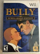 Wii BULLY SCHOLARSHIP EDITION