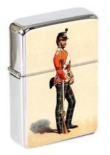 More details for 71st foot highland light infantry 1862 illustration flip top lighter