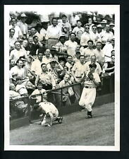 Billy Cox & Pee Wee Reese 1950 Press Wire Photo Brooklyn Dodgers