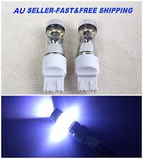 2X NEW T20 7440 7443 100W CREE XBD LED car Brake backup Reverse light bulb Lamp