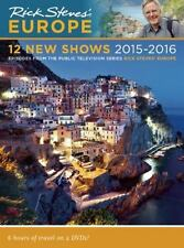Rick Steves Europe 12 New Shows 2015-2016 2 Disc DVD Free Shipping