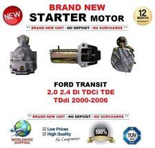FOR FORD TRANSIT 2.0 2.4 Di TDCi TDE TDdi 2000-2006 STARTER MOTOR 2.1 kW 19Teeth