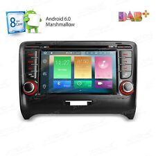 AUTORADIO Android 6.0 Audi TT Navigatore Gps Comandi Volante Bluetooth Octacore