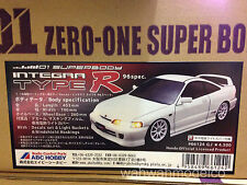 ABC Hobby HONDA INTEGRA TYPE R 96Spec DC2 190mm Body Set For 1:10 RC Car #66124