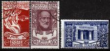 Italien 157-59, O, 50. Todestag Mazzini