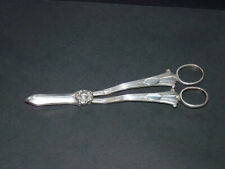 RARE SOLID SILVER MAPPIN AND WEBB PAIR GRAPE SCISSOR DATED 1895