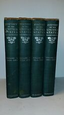 HISTORY of the UNITED STATES illustrated, 1896, 1500pgs in 4 Volumes 1492-1893