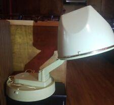 Vintage Lady Schick Portable Tabletop Hard Top Bonnet Hair Dryer w/ Wig Setting