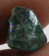 #8 7.00ct  Cambodia Natural Rough Uncut Blue Zircon Crystal Specimen 1.40g 10mm