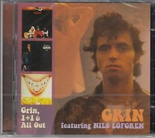 GRIN feat. Nils Lofgren-GRIN, 1+1, All Out, 2cd NUOVO