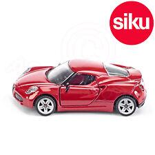 Siku No 1451  Alfa Romeo 4C SportsCar Dicast Metal Model with Opening Doors