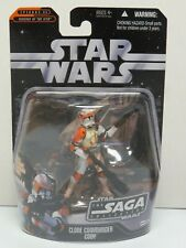 STAR WARS CLONE COMMANDER CODY ACTION FIGURE SEALED SAGA COLLECTION