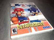 Mario & Sonic at the Olympic Games (Nintendo Wii, 2007) Factory Sealed