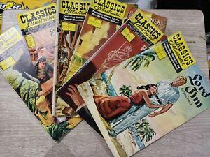 Lot of 6 Classics Illustrated comics - Philippine Edition JMC 1975