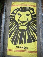 The Lion King Broadway Musical Beach Towel