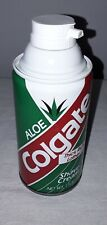 COLGATE SHAVING SHAVE CREAM THICK RICH LATHER WITH ALOE